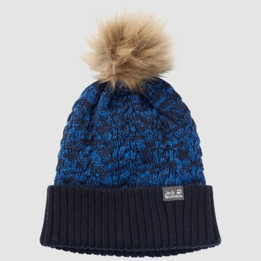 KNIT POMPOM CAP KIDS